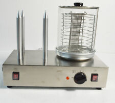 Hot Dog Machine& Bun Warmer Electric 110v Commercial Hotdogs Steamer 300w USA
