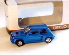 Renault 5, Turbo Azul metálico, NOREV, 1:64