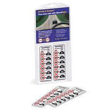 Speed Right Transparent MPH KPH Speed Converter Windscreen Reminder Sticker