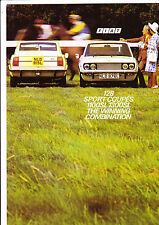 Fiat 128 Sport Coupe brochure (1100SL and 1300SL) - 1973 - mint condition