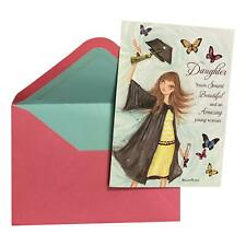 Graduation Day Greeting Card - Daughter You're Smart, Beautiful and an Amazing y