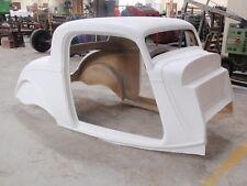 1934 Ford 3 Window Coupe Fiberglass Body (unassembled) hot rod streetrod