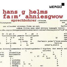Hans G Helms Fa:m' ahniesgow 2 CDs Wergo Experimental Speech Composition