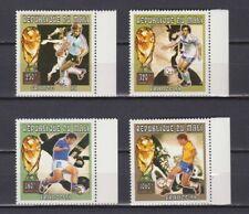 S7243) Mali 1998 MNH World Cup Football' 98- CM Football 4v