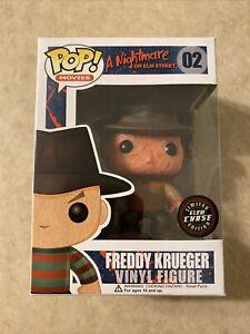 FUNKO POP Nightmare On Elm Street FREDDY KRUEGER Vinyl Figure GLOW CHASE EDITION