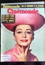CINEMONDE 2/10/1958; Pier Angeli/ D. Nohain/ Glenn Ford/ Salon de la Radio, Tv,