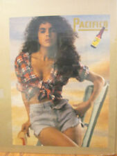 vintage Pacifico beer advertisement poster  9449
