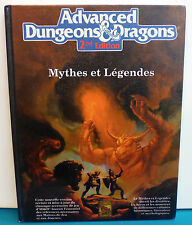 Advanced Dungeons & Dragons ad&d 2nd Mythes et Légendes (Legends & Lore) 2108F