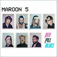 MAROON 5 Red Pill Blues (2017) Deluxe Edition 14-track CD album NEW/SEALED