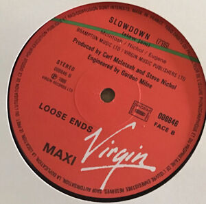 """MINT - LOOSE ENDS - SLOW DOWN (French 12"""")"""