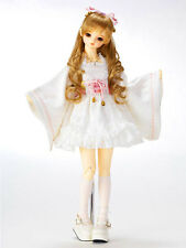 BJD 1/3 Volks Pink Maiden Kimono Dress Set Outfit SD SD13