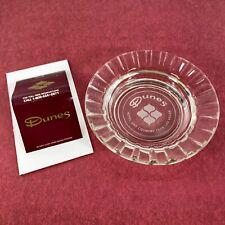 New ListingVtg Dunes Casino Las Vegas Ashtray & Matchbook Full