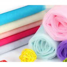 Diamond Rhombic Mesh Tutu Netting Fabric Tulle Roll Wedding Dress Crafts 1/10M