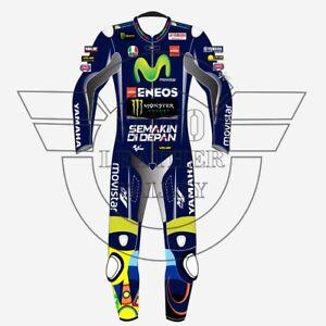 Valentino Rossi Yamaha Movistar 2019 Motorbike Racing Leather Suit