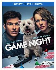 Game Night (Blu-ray Disc ONLY, 2018)