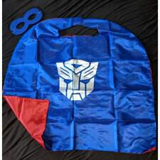 Transformers Blue and Red Cape and Mask Set (children)