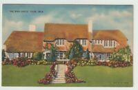 Unused Postcard The Irish Castle Tulsa Oklahoma OK