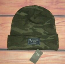 MENS ABERCROMBIE & FITCH CAMOUFLAGE BEANIE HAT ONE SIZE
