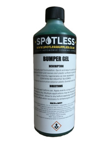 500ml Bumper Gel Back to Black Exterior Dressing For Car Plastic and Rubber Trim