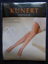 KUNERT Mystique 20 Strumpfhose transparent matt  Gr.44-46 Elegance  s. Bilder  b