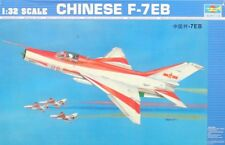 Trumpeter 1:32 Chinese F-7EB Plastic Aircraft Model Kit #02217