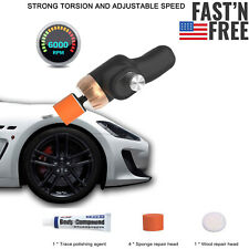 Car Electric Polisher Cleaning Waxing Machine Surface Scratch Repair Tool P0B2