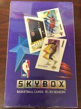 SKYBOX baloncesto de la NBA de 91-92 Caja Sellada de Fábrica 36 paquetes JORDAN?! MICHAEL