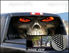 P192 Grim Reaper Rear Window Tint Graphic Decal Wrap Back Pickup Graphics