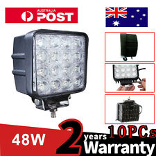 10PCS 48W LED Work Light Flood DC 12V/24vTractor Truck driving worklight lights