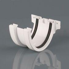 Brett Martin 115x75mm Joint Union Bracket Deepstyle White Guttering BR74 #40R82