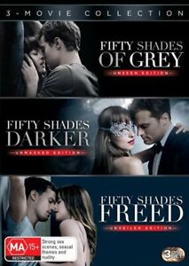Fifty Shades Of Grey / Fifty Shades Darker / Fifty Shades Freed Triple Franch...