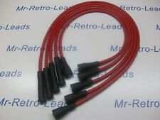 RED 8.5MM PERFORMANCE IGNITION LEADS WILL FIT LOTUS ELAN CORTINA TWIN CAM ESCORT