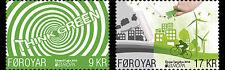 Faroes 2016 Europe think green mnh/postfris us