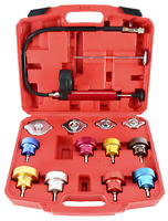 14pc Radiator Pump Pressure Leak Tester Detector Cooling System Tester Test Kits