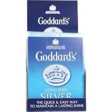 Goddards Long Term Lasting Silver Polish Polishing Cleaning Cloth