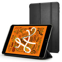 iPad Mini 5 Case | Spigen® [Smart Fold] Leather Tri-Fold Slim Cover Case