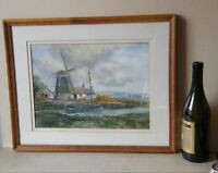 John Hamilton Glass SSA Signed Original Watercolour 1890-1925 Windmill Cottages