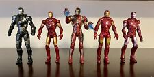 Lot of 5 Marvel Legends Iron Man, War Machine -Army Build *Loose/Incomplete*