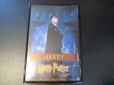 HARRY POTTER AND THE PHILOSOPHER'S STONE UK FRAMED MOVIE POSTER W/HARRY A11807