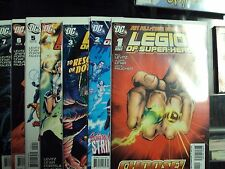 Legion of Super Heroes Comic Lot by DC 2010 (17) comic lot complete run