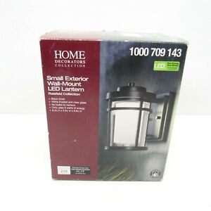 Home Decorations Collection Black Outdoor LED Wall Lantern Sconce 1000 709 143