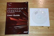 ASUS CROSSHAIR V Formula MOTHERBOARD DRIVERS DVD AND Manual
