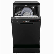 Hoover HDP2D1049B 10 Place Setting Slimline Dishwasher in Black