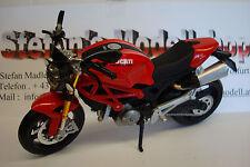 Rar  !! Ducati Monster 696 Rot Rosso Red 1:12 Maisto