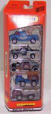 Matchbox Scrapyard 5 Pack Gift Set Diecast Trucks NIB Mattel Wheels NIP 1999