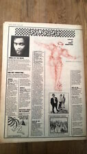 DAVID BOWIE Ashes to Ashes single review 1980 UK ARTICLE / clipping