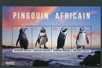 Togo 2014 MNH African Penguin 4v M/S II Birds Pingouin Africain