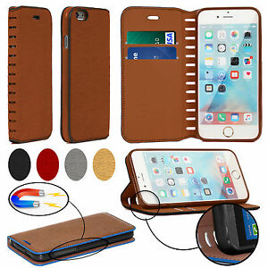 Genuine HandMade PU Leather Facny Wallet Flip Stand Case Cover Mobile Phones