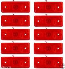 10 x 4 LED INDICATORE LATERALE 24V LUCI FRECCIA Fari CAMION TELAIO del bus