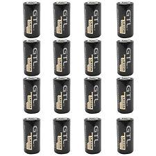 16PCS 123A 16340 1200mAh 3.0V Lithium Li-ion Rechargeable Battery Camera Torch